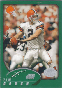 Cleveland Browns 2002 Topps Football Cards