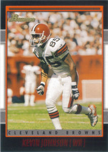 Cleveland Browns 2001 Bowman Football Cards